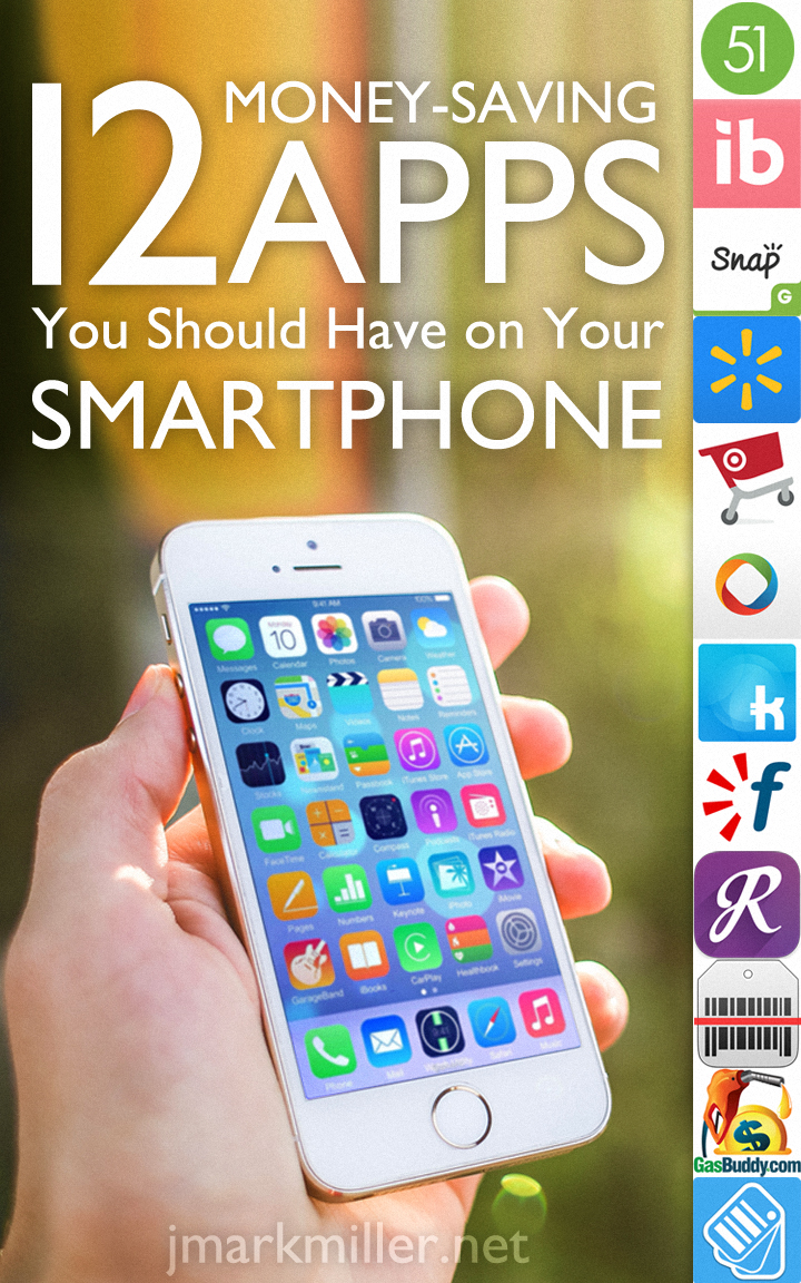 12 Money Saving Apps Pin 12 Money Saving Apps You Should Have on Your Smartphone