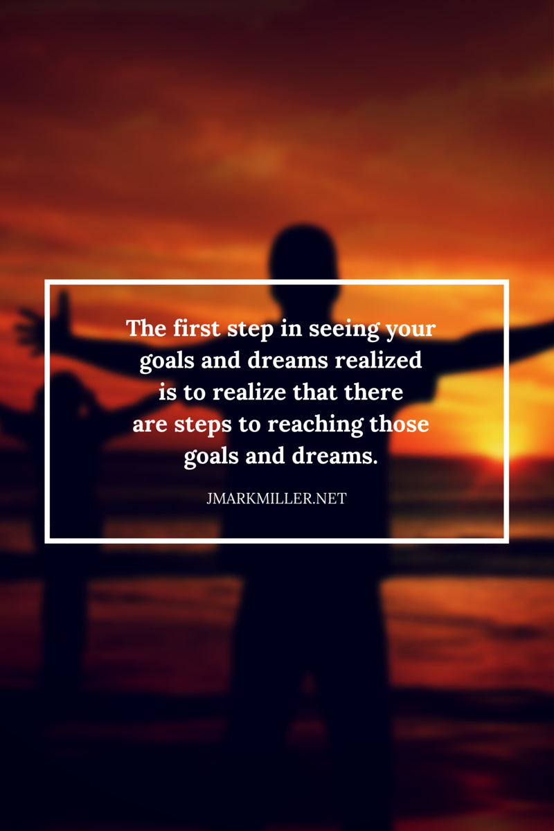 The first step in seeing your goals and Are You Living an Incremental Life? You Should Be